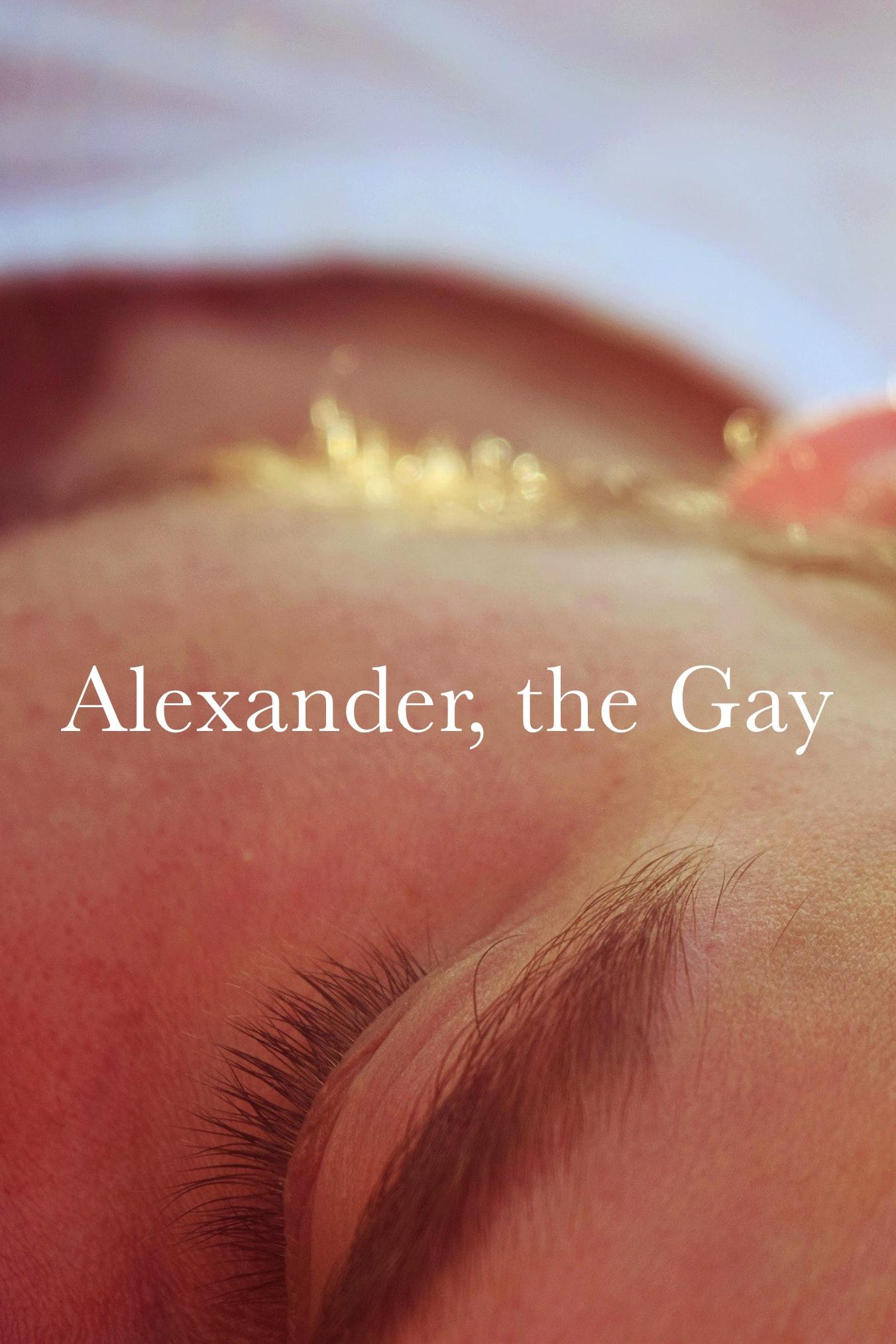 Alexander the Gay film script